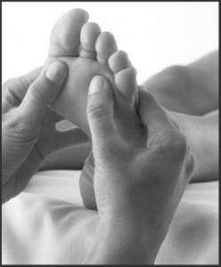 Оргазм с помощью массажа ног
