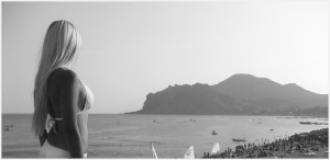 Первозданная нагота нудистского пляжа