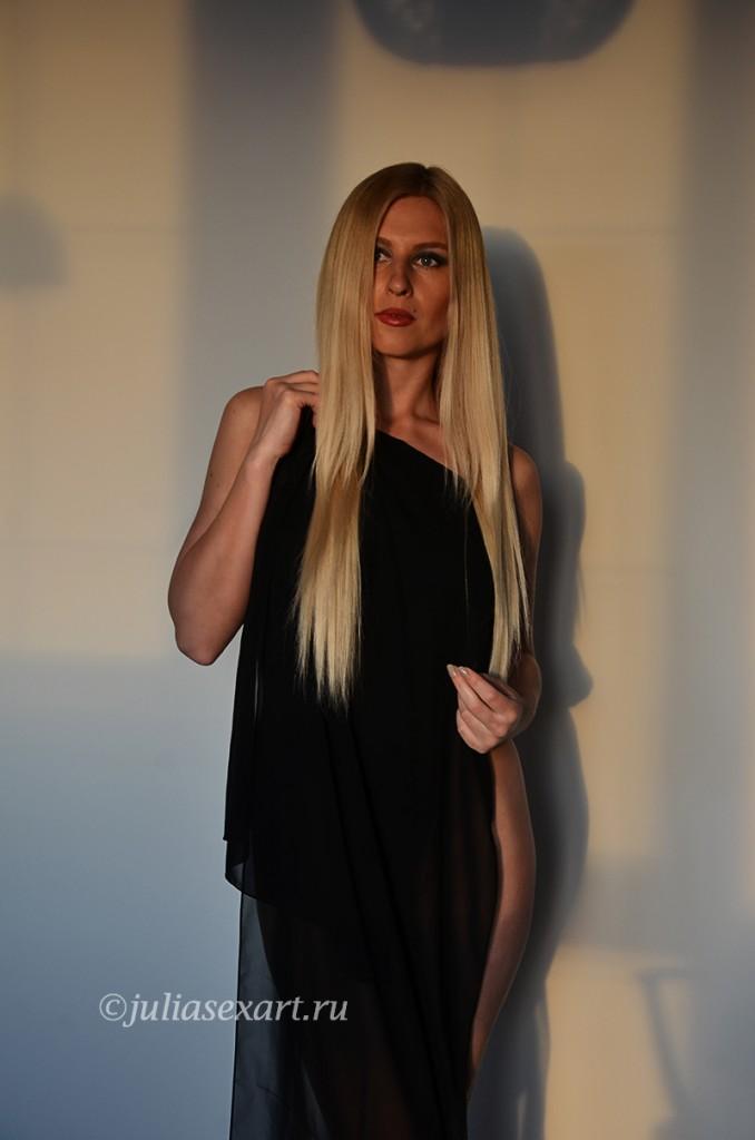 девушка блондинка фото