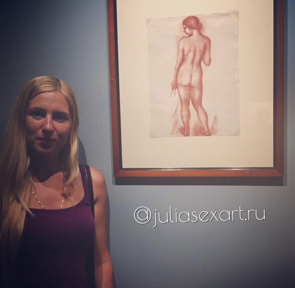 Обнаженная женщина со спины: Аристид Майоль
