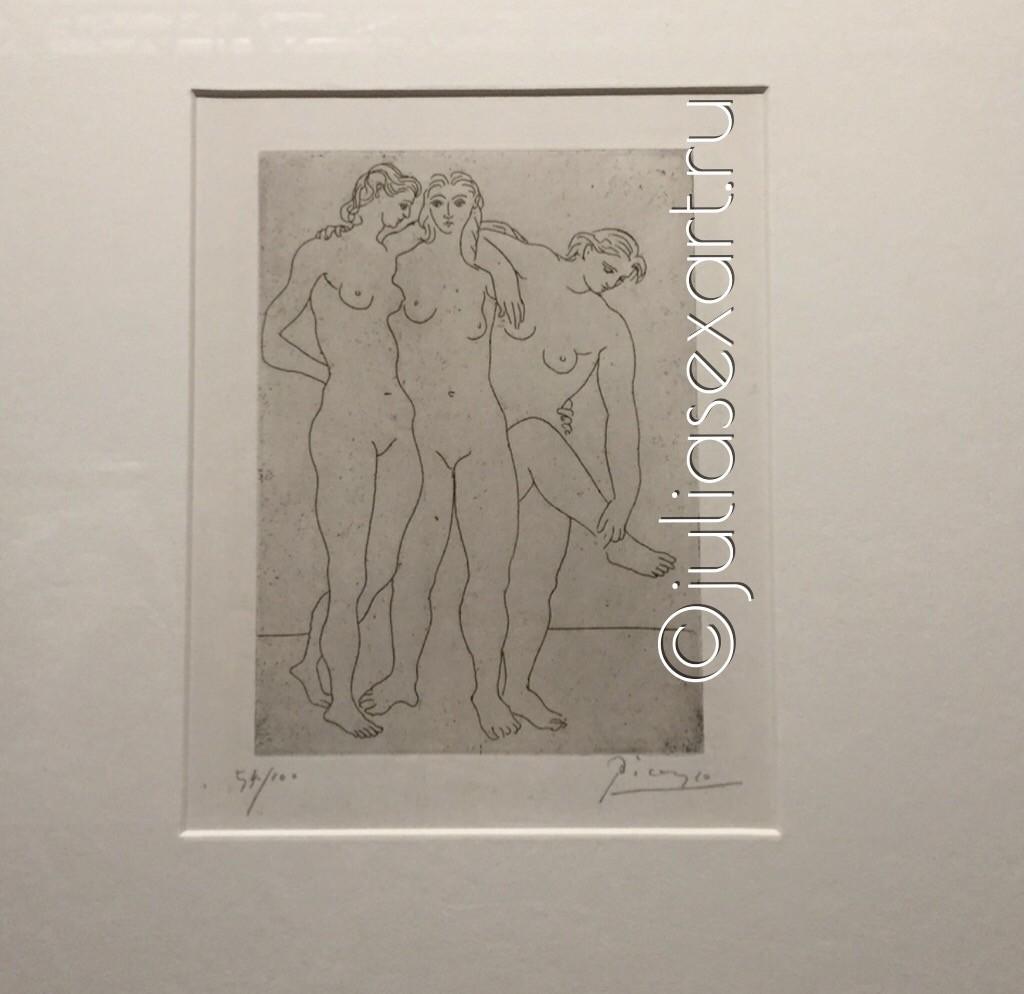 фото три купальщицы